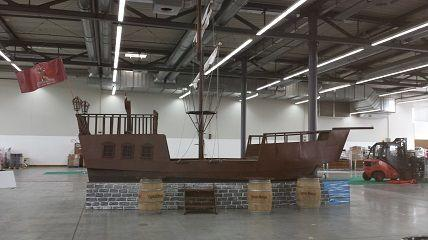 Maritime Deko & Schiffsmodelle mieten & vermieten - Piratenschiff 8m in Heringsdorf