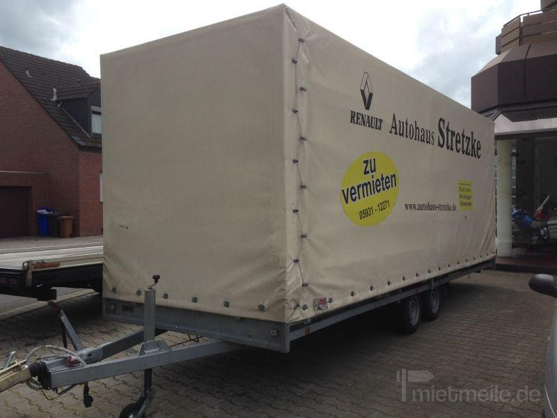 Transporter mieten & vermieten - Anhänger, Transporter, Baumaschinen, Lkw in Meppen
