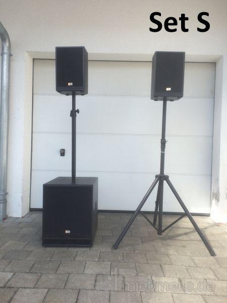 Musikanlage mieten & vermieten - Musikanlage / PA für Partys Party / Hochzeit in Bellenberg