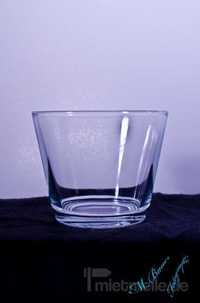 Tischdekoration mieten & vermieten - Tischleuchter (Teelicht) 6cm hoch Glas in Rosenheim