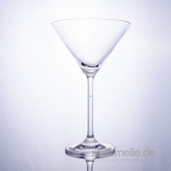 Gläserverleih mieten & vermieten - Martinigläser in Rosenheim