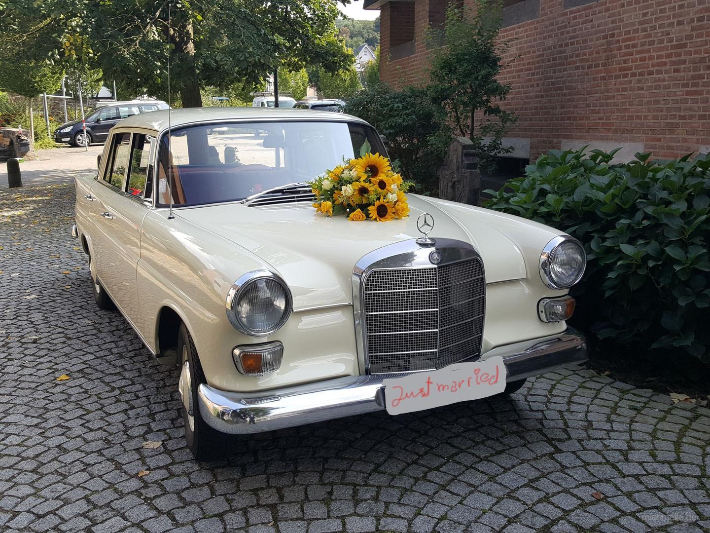 Hochzeitsauto mieten & vermieten - Hochzeitsauto (Oldtimer) mit Chauffeur in Bornheim