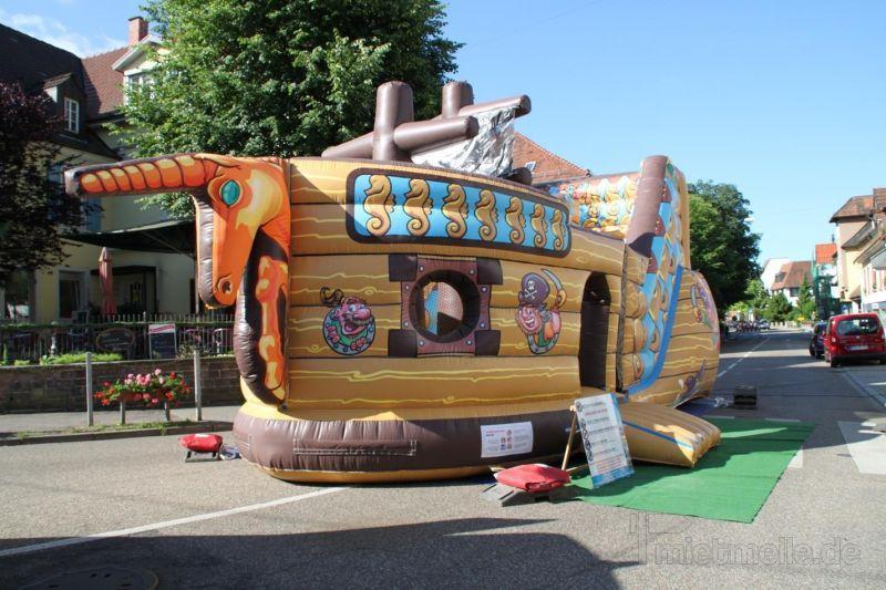 Hüpfburg mieten & vermieten - Piratenschiff ~ Hinternis klettern / hüpfen in Rheinmünster