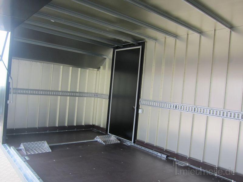 Kofferanhänger mieten & vermieten - Geschlossener KFZ Transportanhänger in Grevenbroich