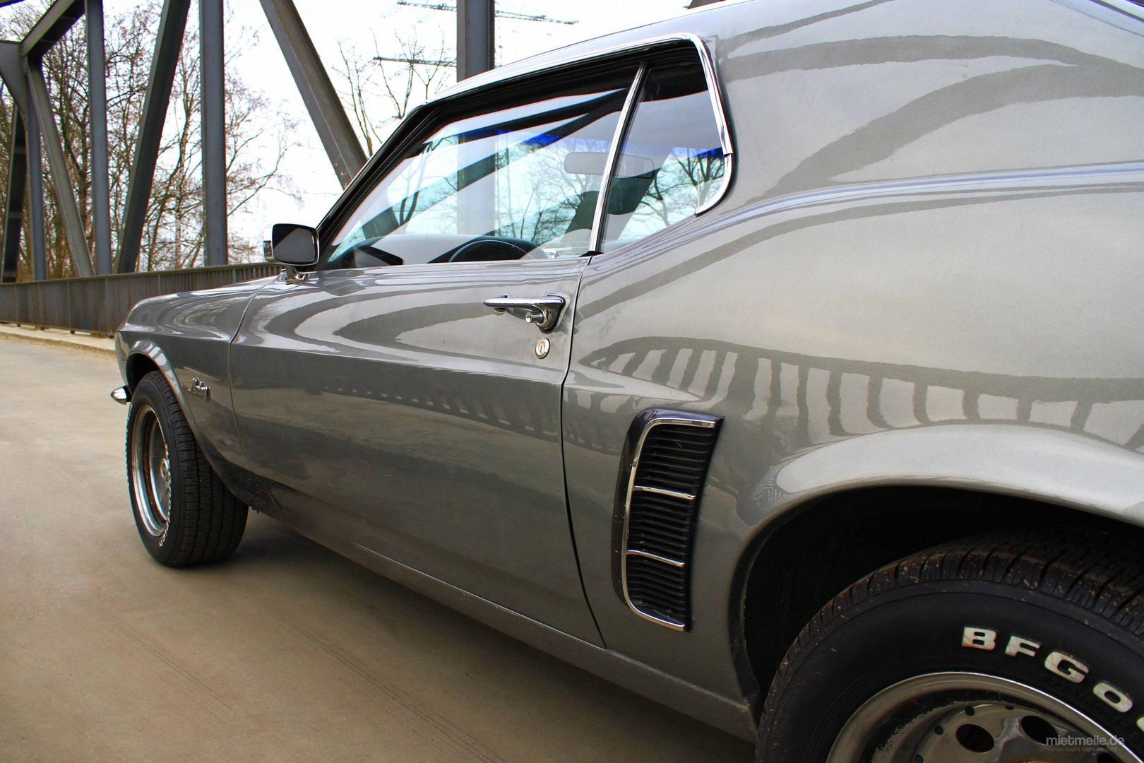 Oldtimer mieten & vermieten - Mustang GT Coupe Baujahr 1969 ***V8-Motor*** in Marl
