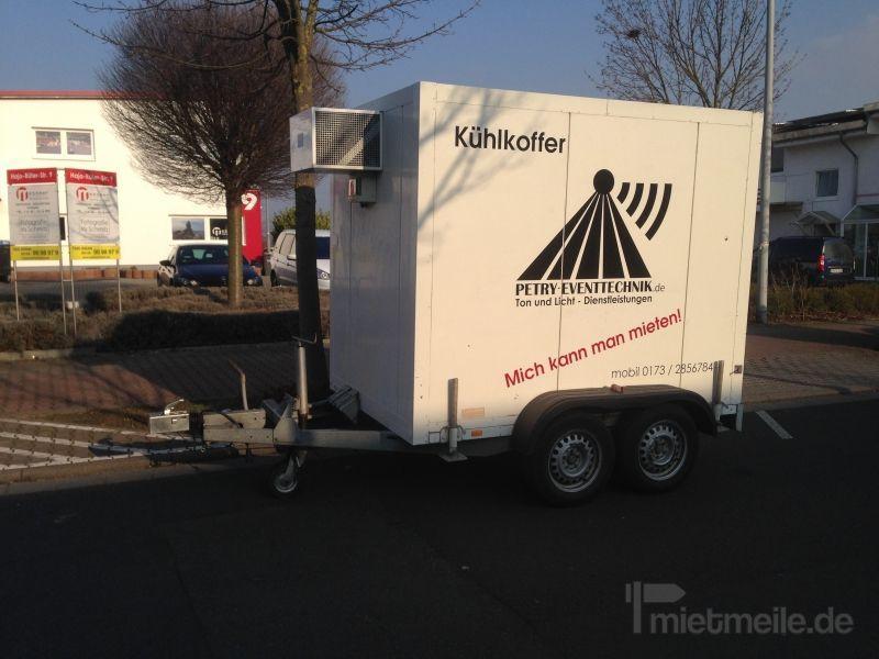 Kühlanhänger mieten & vermieten - Kühlkoffer Kühlanhänger Isopolar in Hochheim am Main