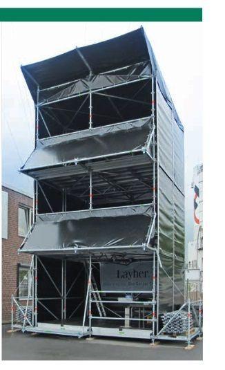 Bühne mieten & vermieten - FOH 4 x 4 m - 1-3 Etagen  in Teutschenthal