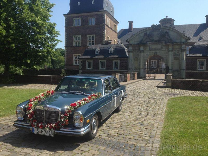 Oldtimer mieten & vermieten - Mercedes 280 SEL Alte S-Klasse in Osnabrück