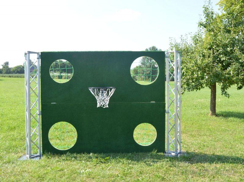 Torwand mieten & vermieten - Torwand XXl mit Basketballkorb! in Salem