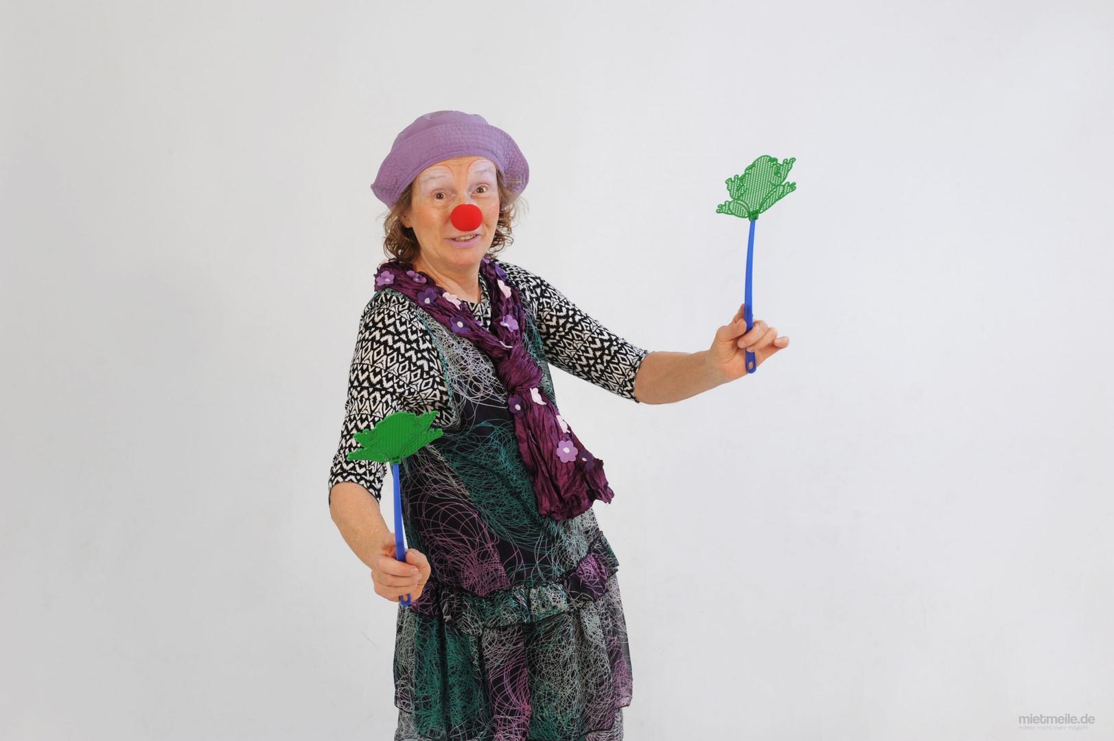 Clown mieten & vermieten - Clown Ulala in München