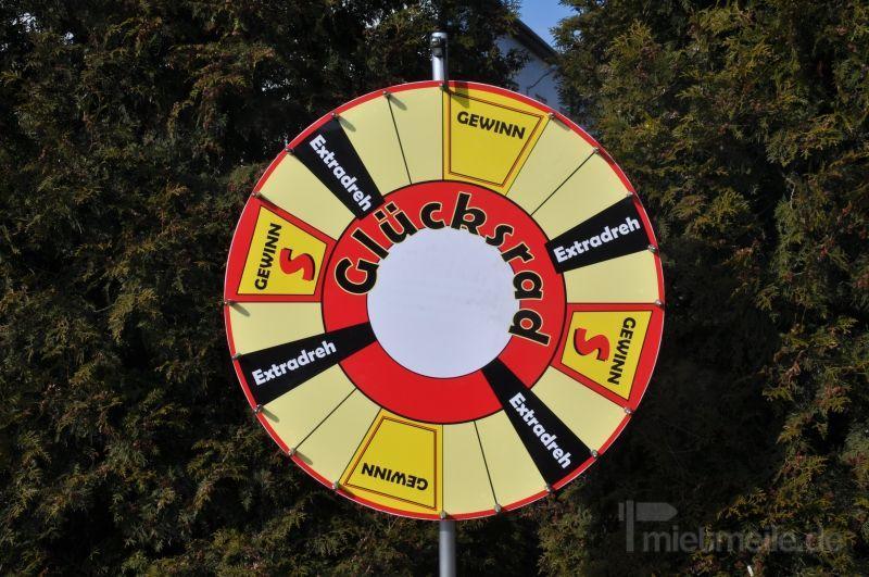 Glücksrad mieten & vermieten - Glücksrad mieten in Schwerin
