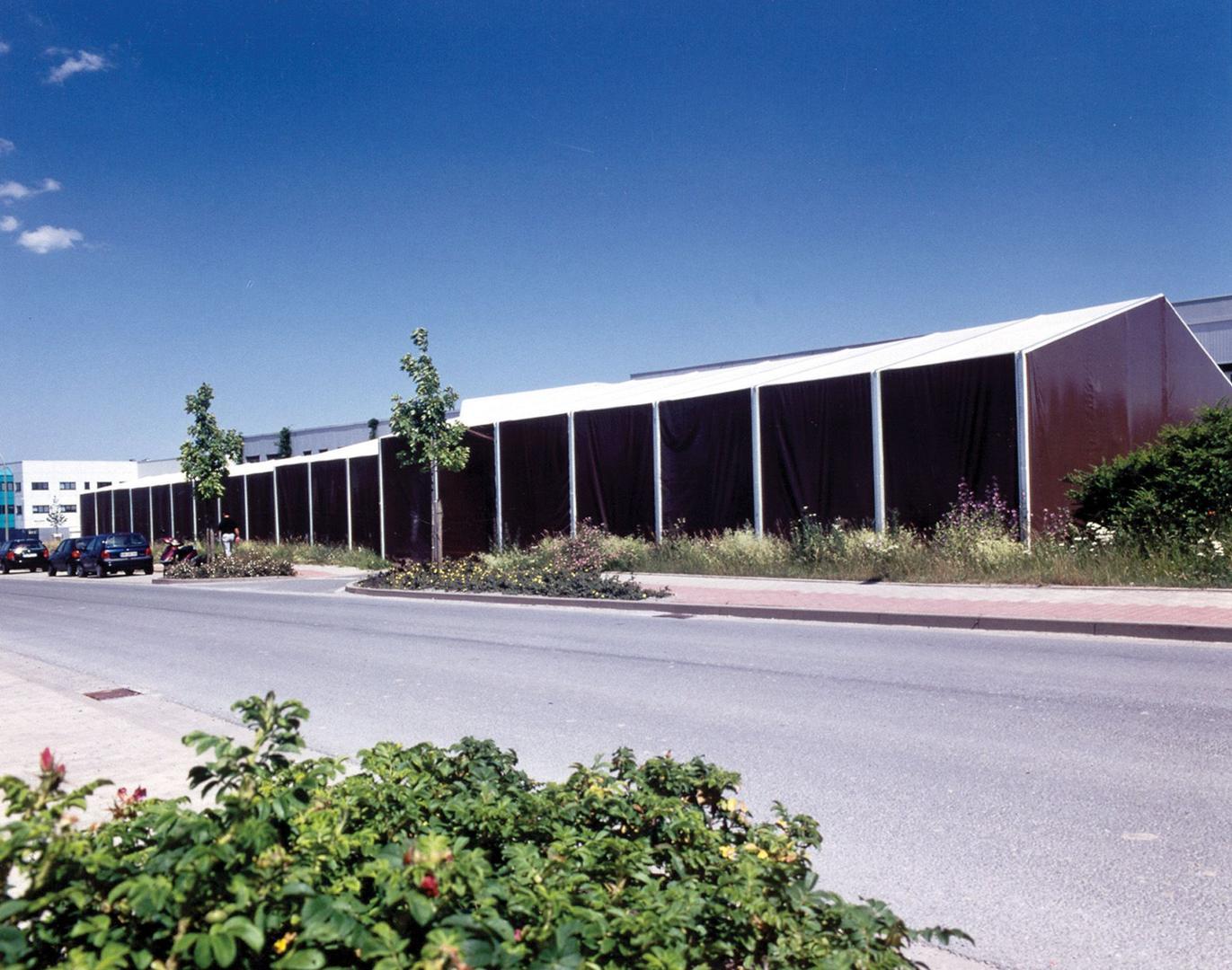 Lagerzelt mieten & vermieten - Leichtbauhalle, Lagerhalle, Lagerzelt 17,50x55m in Reinstädt