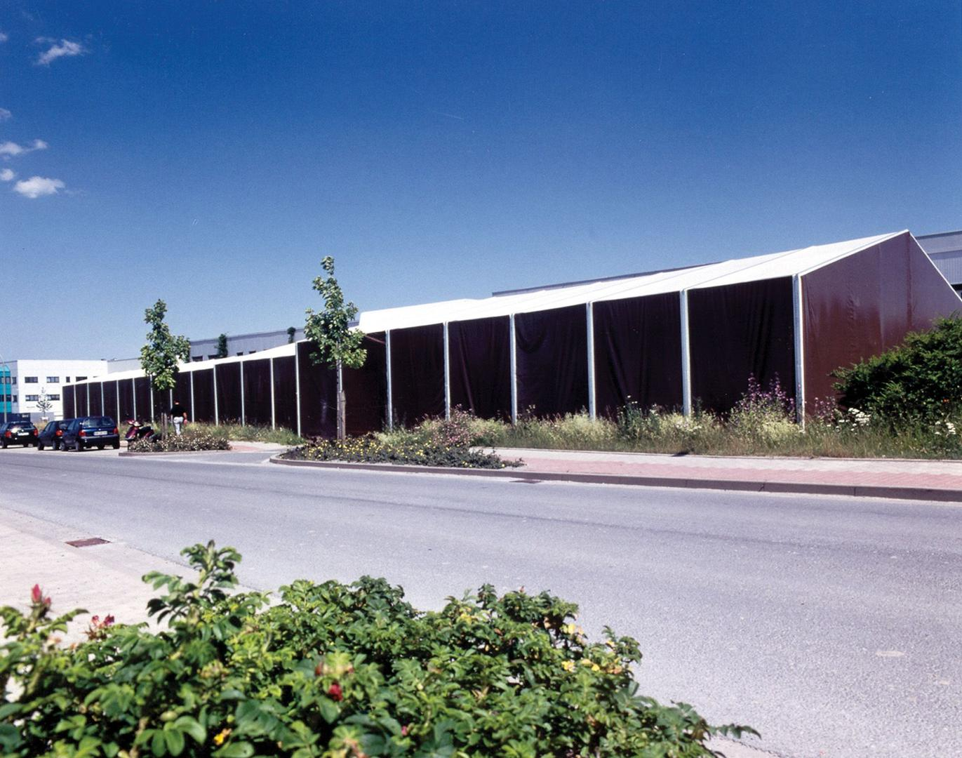 Lagerzelt mieten & vermieten - Leichtbauhalle, Lagerhalle, Lagerzelt 17,50x15m in Reinstädt