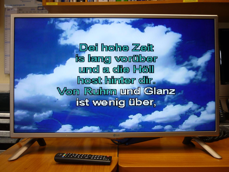 LCD Monitore mieten & vermieten - Flachbildschirm / Bildschrim / Flatscreen LED in Reinstädt