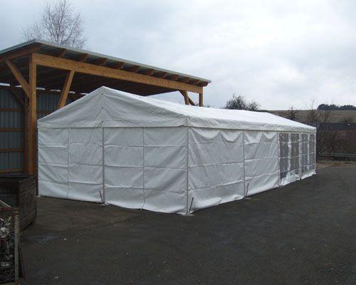 Partyzelte mieten & vermieten - Vereinszelt 4 x 12 m in Reinstädt