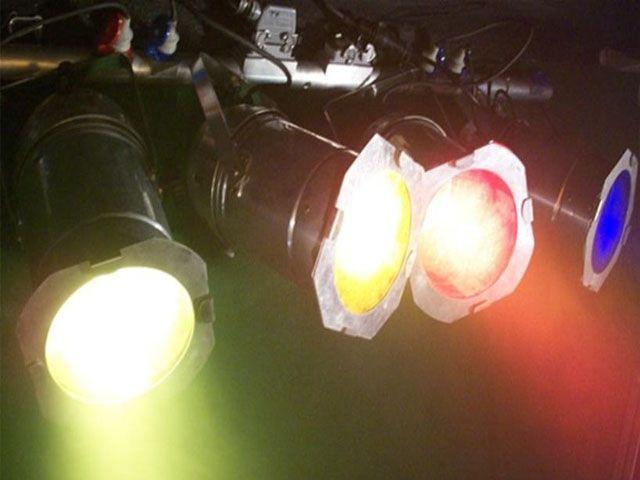 Lichttechnik mieten & vermieten - 4er Bar PAR 64 Scheinwerfer in Reinstädt