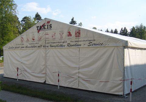 Festzelt mieten & vermieten - Festzelt, 10x8m  in Reinstädt