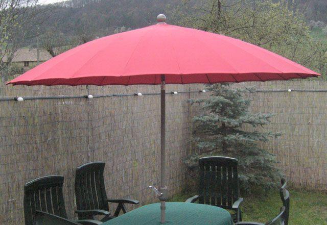 Sonnenschirme mieten & vermieten - Sonnenschirm mit ca. 2,6 m Durchmesser in Reinstädt