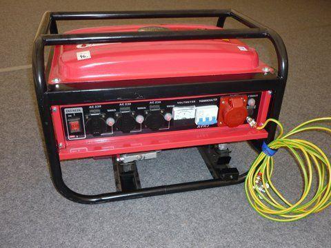 Stromgenerator mieten & vermieten - Stromerzeuger / Notstromaggregat LB2600 Generator in Reinstädt
