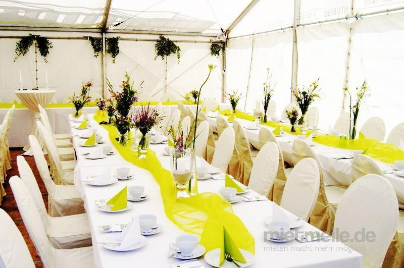 Partyverleih mieten & vermieten - Firmenfeier, Hochzeit, Geburtstag, Jubiläum - Zelt/ Location mit Ausstattung für Ihr Event 101 - 200 Personen Gehoben Plus  in Reinstädt