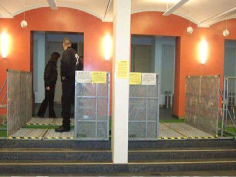 Absperrung mieten & vermieten - Absperrgitter - Bühnenabsperrung -Eingangsschleuse in Reinstädt