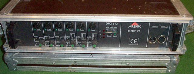 Lichttechnik mieten & vermieten - Dimmer, Arena DMX (hochwertig) in Reinstädt
