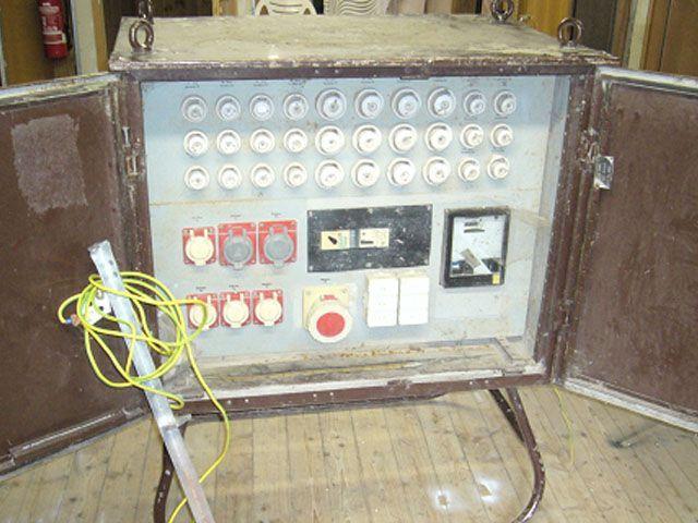 Stromgenerator mieten & vermieten - Baustromschrank 125A - Baustromverteiler in Reinstädt