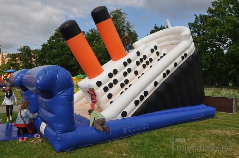 Hüpfburg mieten & vermieten - Riesenrutsche Titanic - Hüpfburg - mieten in Schwerin
