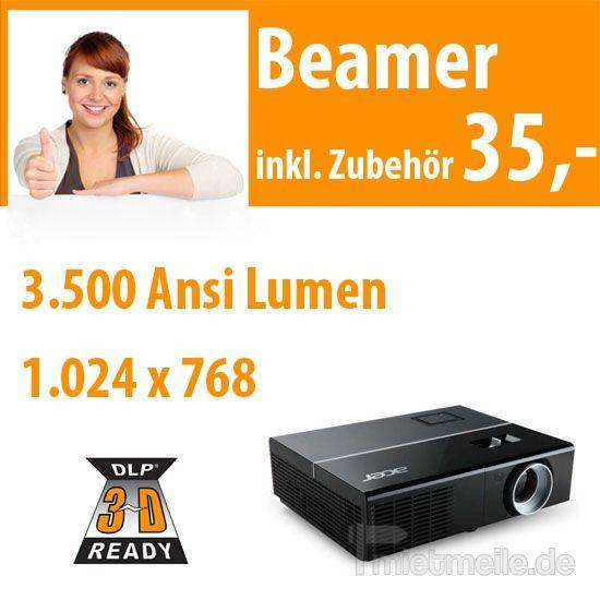 Beamer mieten & vermieten - DLP Beamer 3.500 ANSI in Dresden