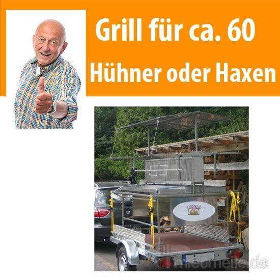 Grill & Ofen mieten & vermieten - Grill für 60 Hühner bzw. Schweinehaxen in Dresden