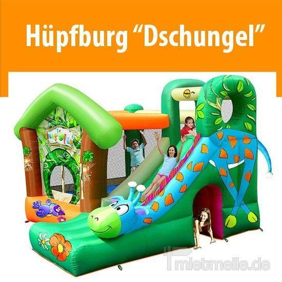 """Hüpfburg mieten & vermieten - Hüpfburg """"Dschungel"""" 3,5 x 3,4 x 2,45 m in Dresden"""