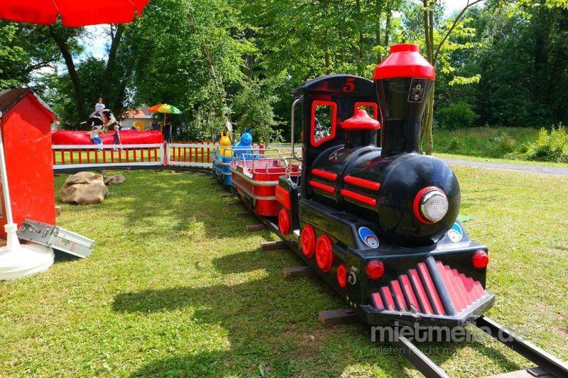 Eisenbahn mieten & vermieten - Kindereisenbahn Rio Grande inkl. Personal, Haftpflicht und Mehrwertsteuer! in Naumburg