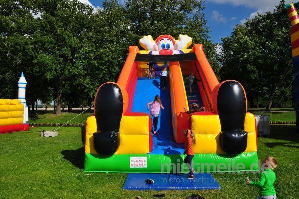 Spielgeräte mieten & vermieten - Clownrutsche - Riesenrutsche Clown mieten in Schwerin