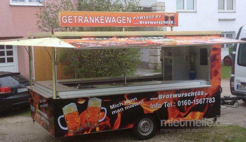 Verkaufsstand mieten & vermieten - Ausschankwagen in Gunzenhausen