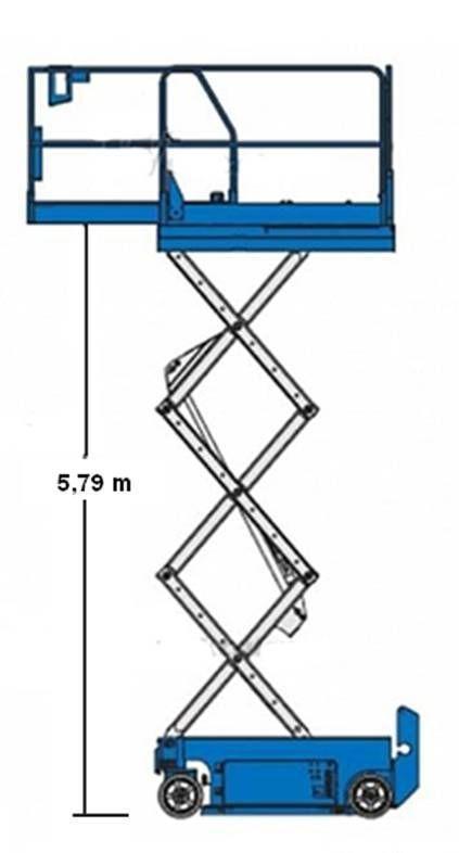 Scherenbühnen mieten & vermieten - Scherenbühne Genie GS-1930 in Ratingen