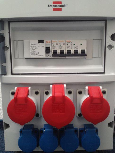 Stromgenerator mieten & vermieten - Stromverteiler BSV 4/32 F in Ratingen