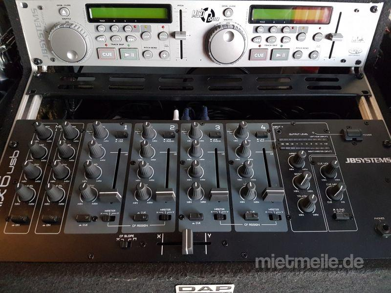 Musikanlage mieten & vermieten - Komplettanlage / Musikanlage Incl Mixer und Doppel Cd Player in Mannheim