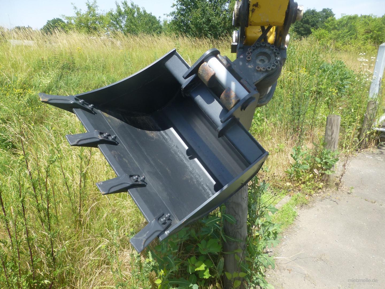 Minibagger mieten & vermieten - Kompaktbagger, Yanmar ViO27 in Dieburg