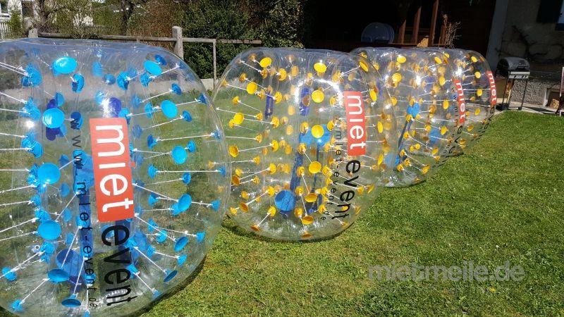 Zorbing mieten & vermieten - Bubble Soccer Bälle mieten  in München