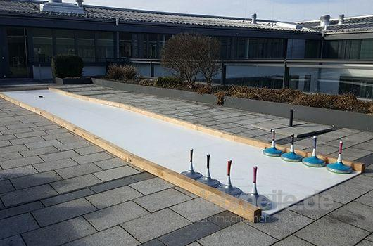 Curlingbahn mieten & vermieten - Eisstockbahn / Fun Curling mieten  in München