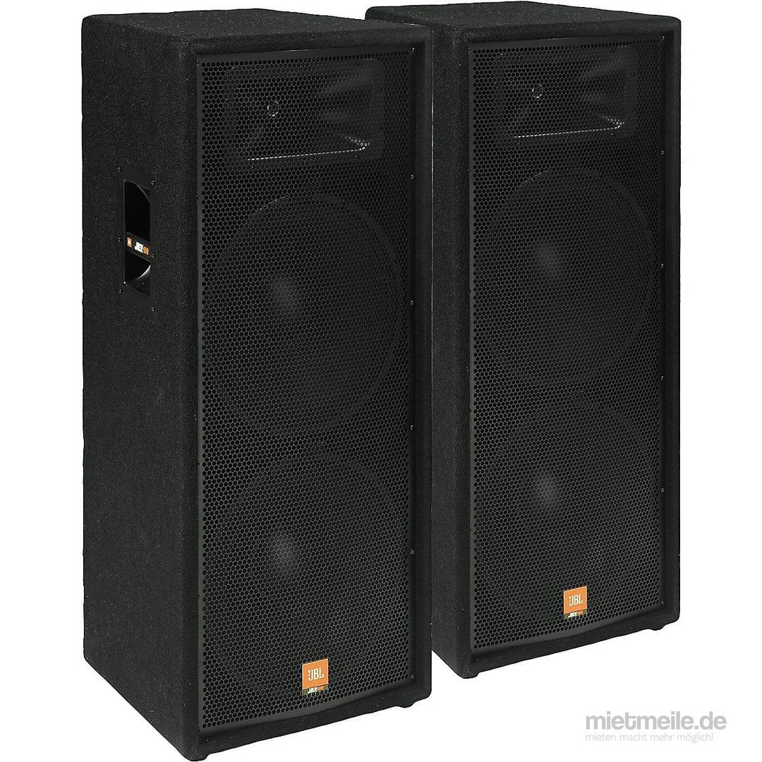 Musikanlage mieten & vermieten - Festzelt Musikanlage für größere Veranstaltungen ab 300 Personen und DJ Vermietung Moderation für ihre Veranstaltung WIR HABEN ALLES FüR IHR FEST in Sulzbach-Laufen