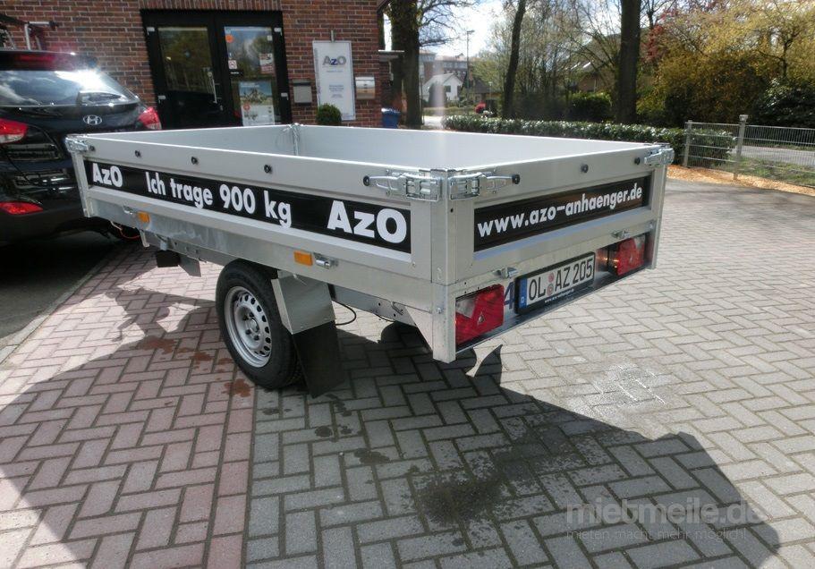 Kippanhänger mieten & vermieten - Rückwärts Kipper Saris PKR 1400 mit Handpumpe in Oldenburg (Oldenburg)