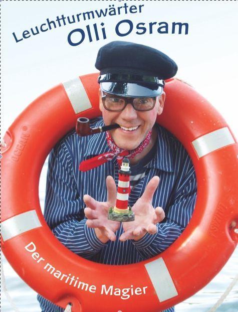 Magier & Zauberer mieten & vermieten - Maritimer, komischer Magier Olli Osram und andere zauberhaft komische Figuren in Eutin