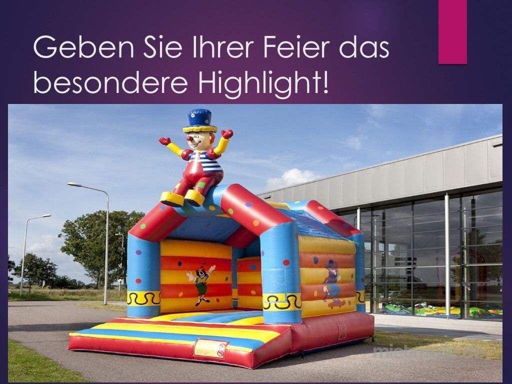 Hüpfburg mieten & vermieten - Hüpfburg Vereih,Vermietung sichere, professionelle Hüpfburgen mieten in Meerane