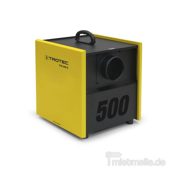 Industrietrockner mieten & vermieten - Adsorptionstrockner Trotec TTR 500 D in Heinsberg
