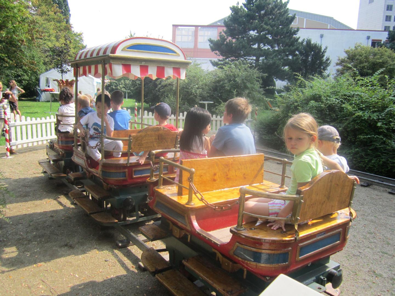 Eisenbahn mieten & vermieten - Kindereisenbahn SAXONIA Schieneneisenbahn  in Ockenheim