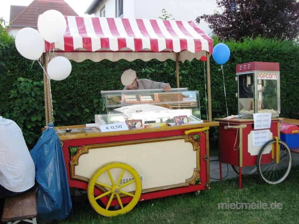 Verkaufsstand mieten & vermieten - Nostalgie Eiswagen, Eisstand, Eisverkauf, Eistheke in Ockenheim