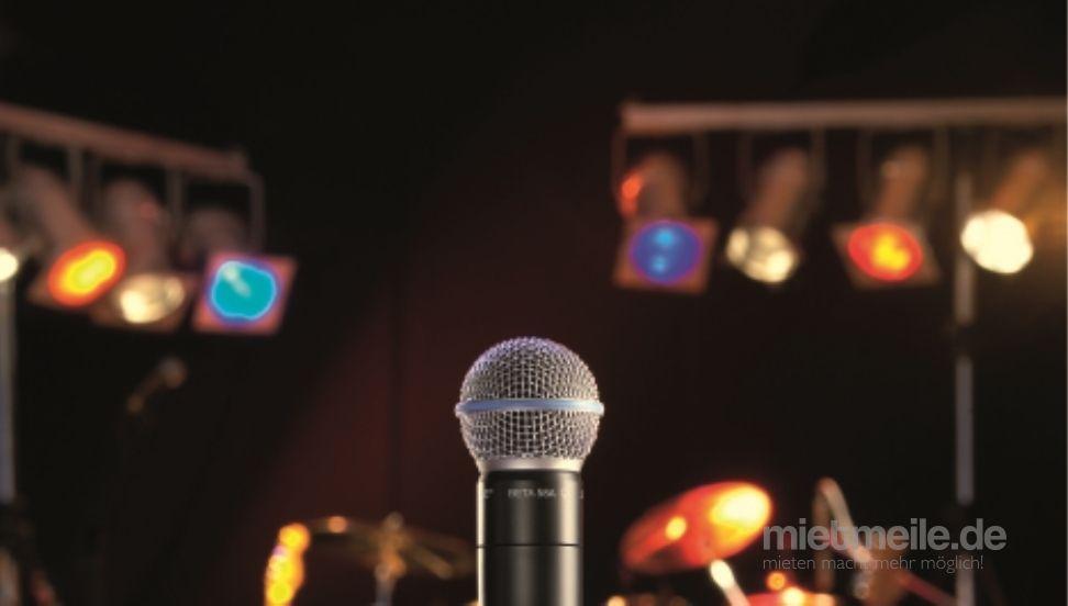 Musikanlage mieten & vermieten - Verleih Musikanlage Mikrofon Partylicht Effekte uvm. Partyanlage in Langenau