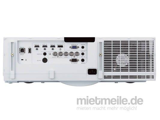 Beamer mieten & vermieten - Beamer, NEC PA672W, WXGA, 6700 ANSI-Lumen in Kirchheim bei München