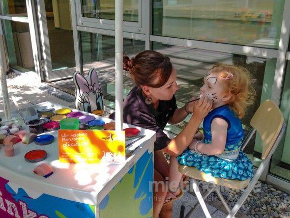 Kinderschminken mieten & vermieten - Kinderschmink Aktion - 6 Std. Aktionszeit in Dortmund